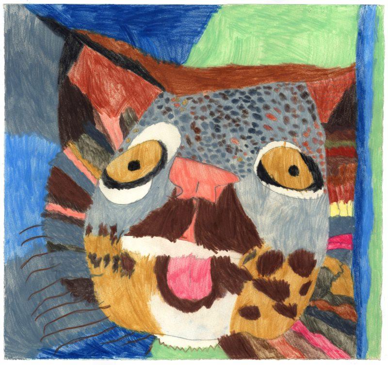 Snow Leopard Tongue