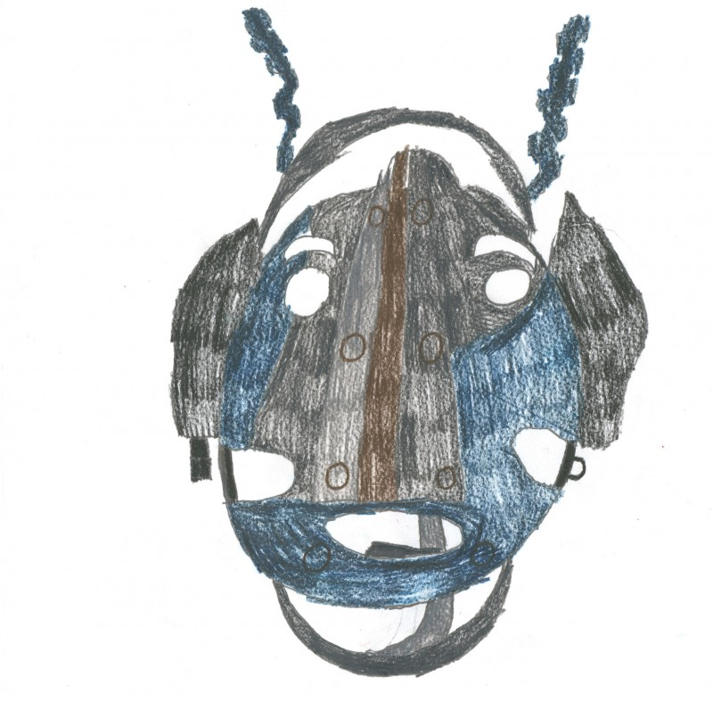 Mask with Antennae