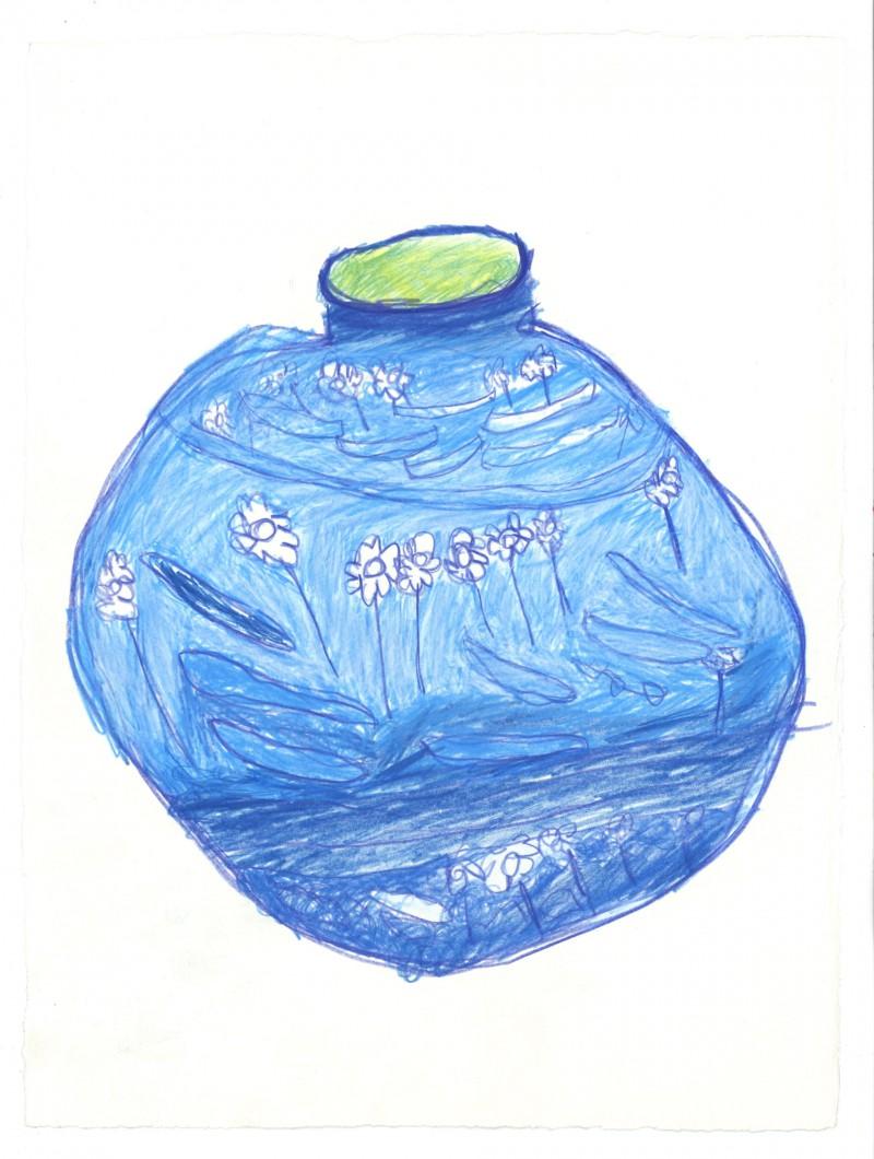 Blue Vase – China