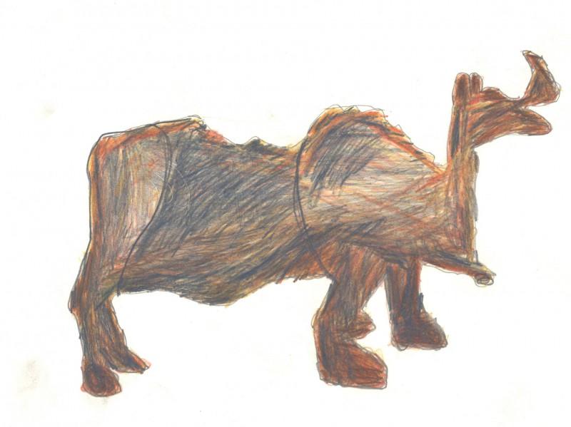 Rhinocerous – China, date AD 25-220