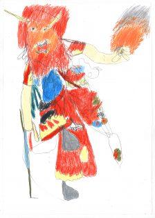 Christian Ovonlen, Chinese Costume, 2016