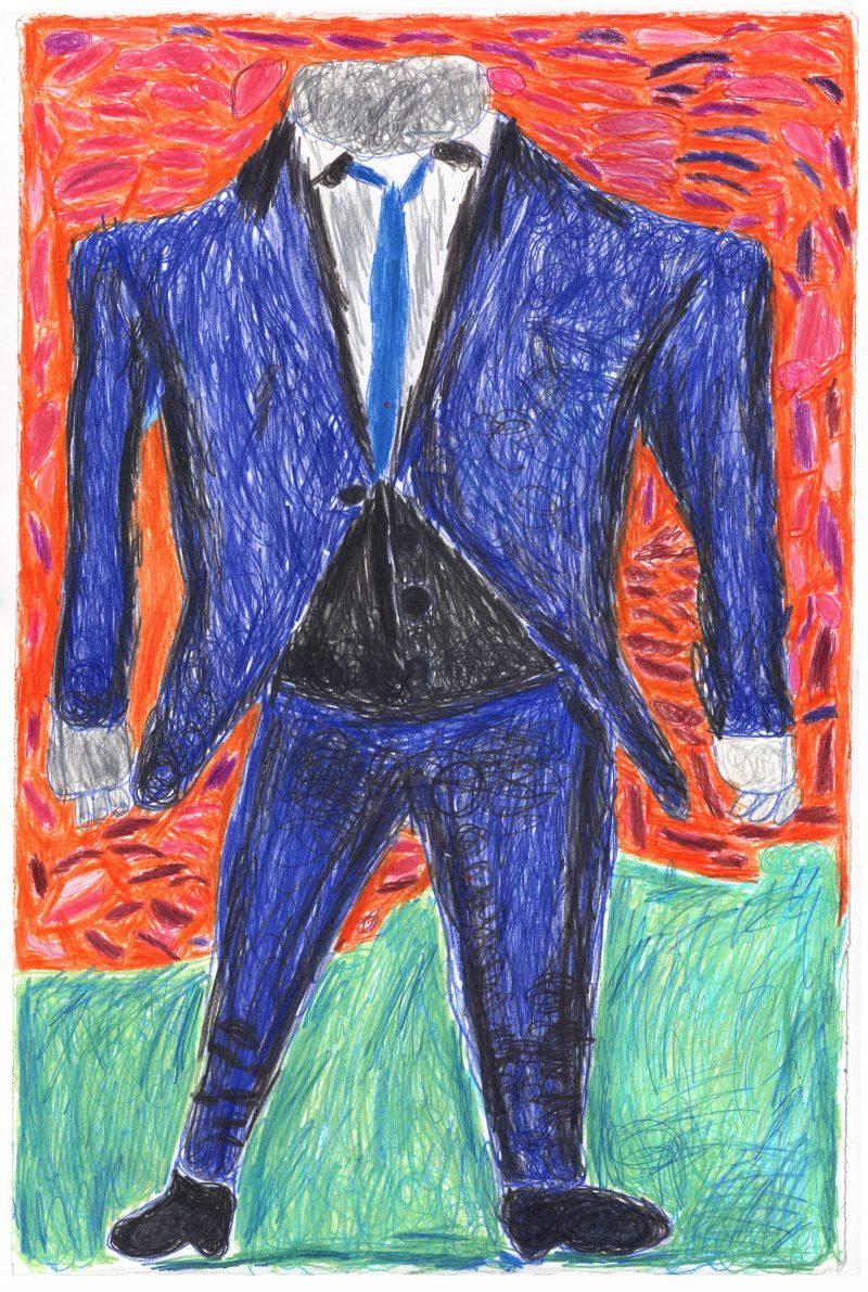 David Bowie's Blue Suit