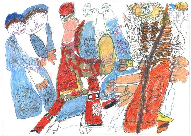 Costumed Cast