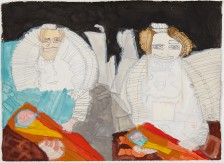 Clifton Wright, Two Tudor Women, 2014
