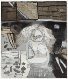 Clifton Wright, At work, 2015