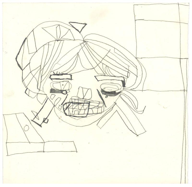 A Head in Pencil