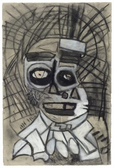 Clifton Wright, Paled-Up Face, 2017