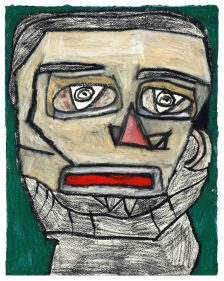 Clifton Wright, Borrowed Picasso Portrait, 2017