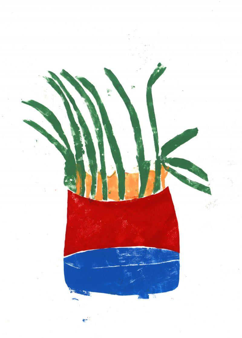 Plant Pot 1 Print