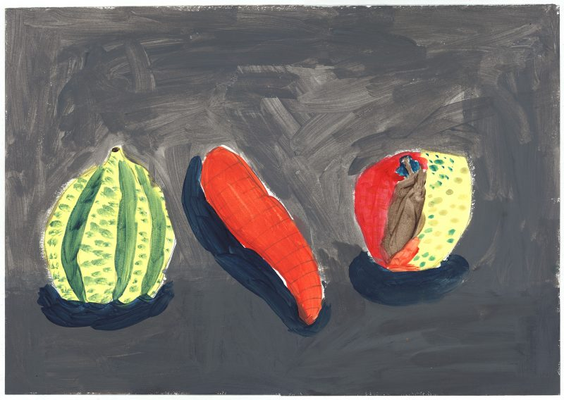 Watermelon, Carrot, Apple