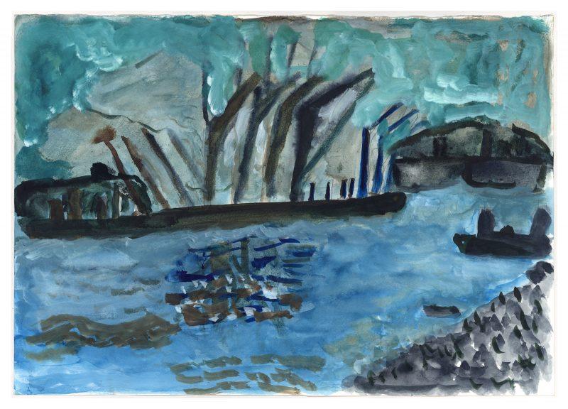 River Cranes