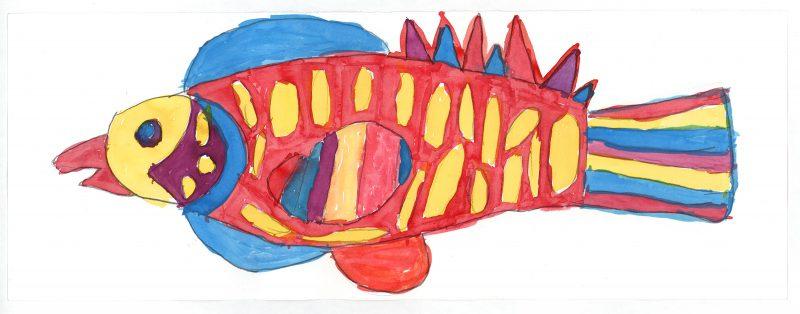 Blue Fin Fish