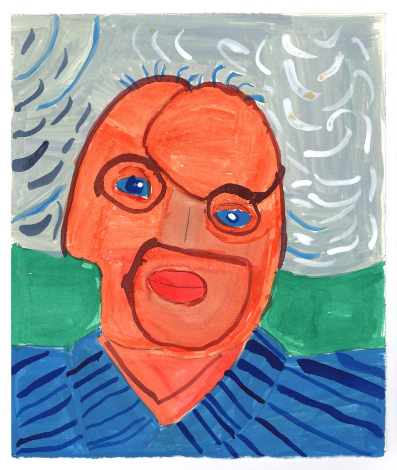 David Hockney's Mother 2