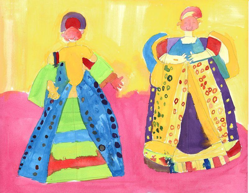 Duo Tudor Dress