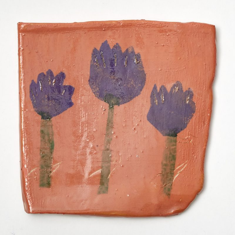 Purple Tulip Tile
