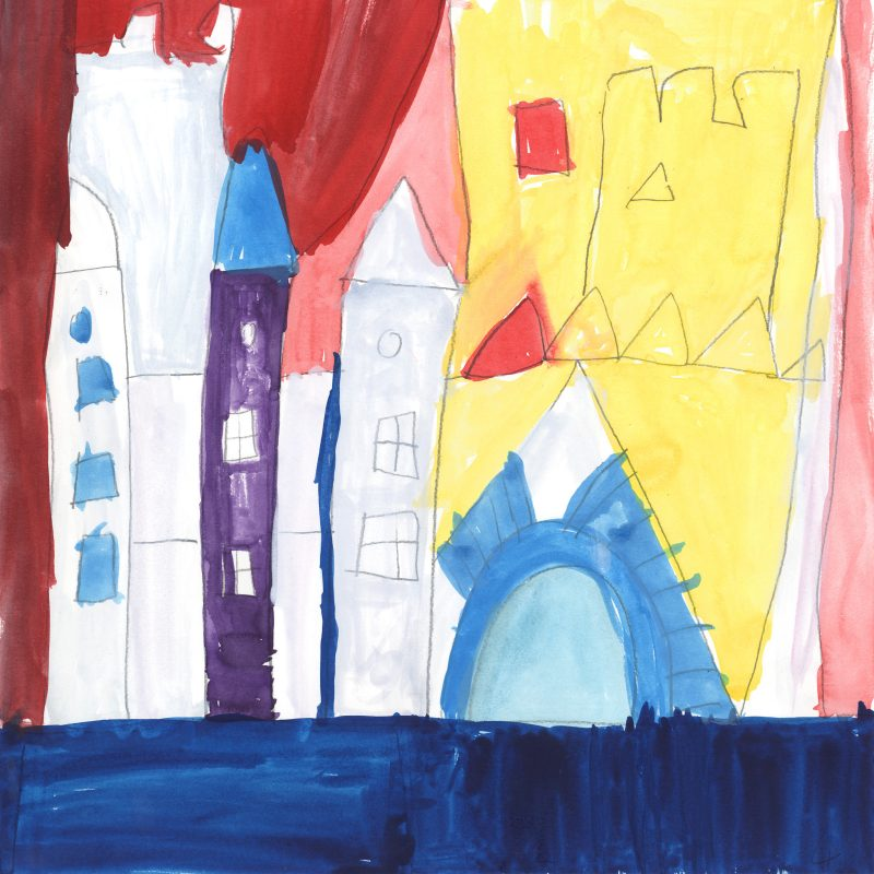 Colourful Castle