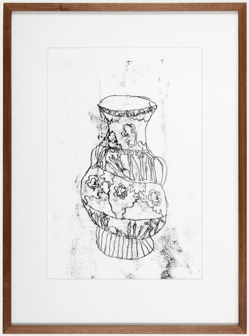 Monoprint Vase