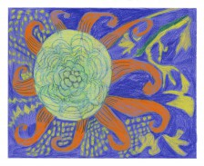 Mawuena Kattah, Sunflower Pattern, 2014