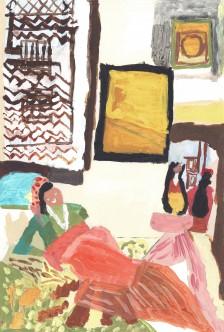 Mawuena Kattah, Arabian Interior, 2014