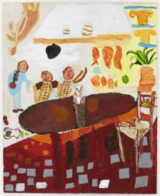 Mawuena Kattah, Dining Table, 2015