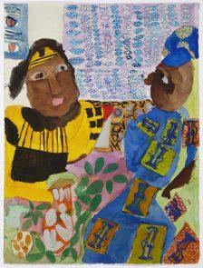Mawuena Kattah, With My Auntie, 2016