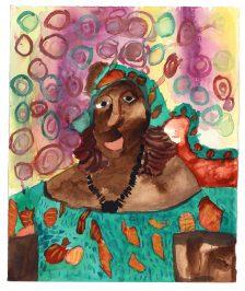 Mawuena Kattah, Auntie Comfort, 2016