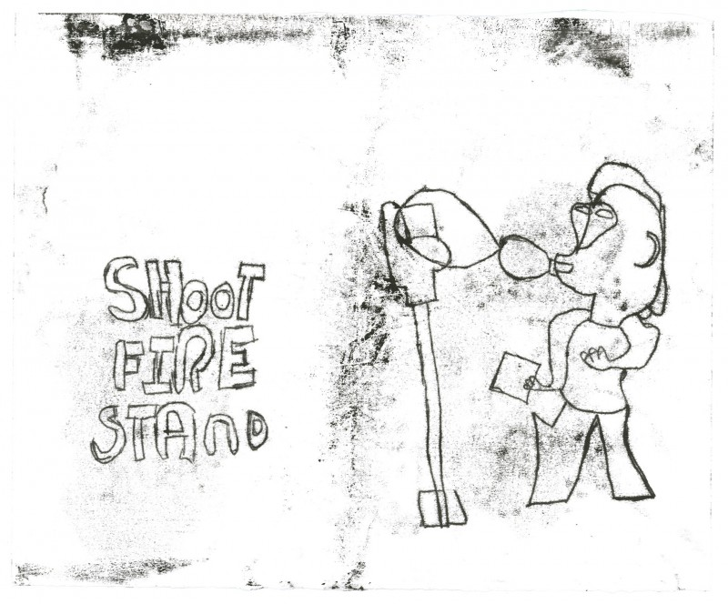 Shoot Fire Stand