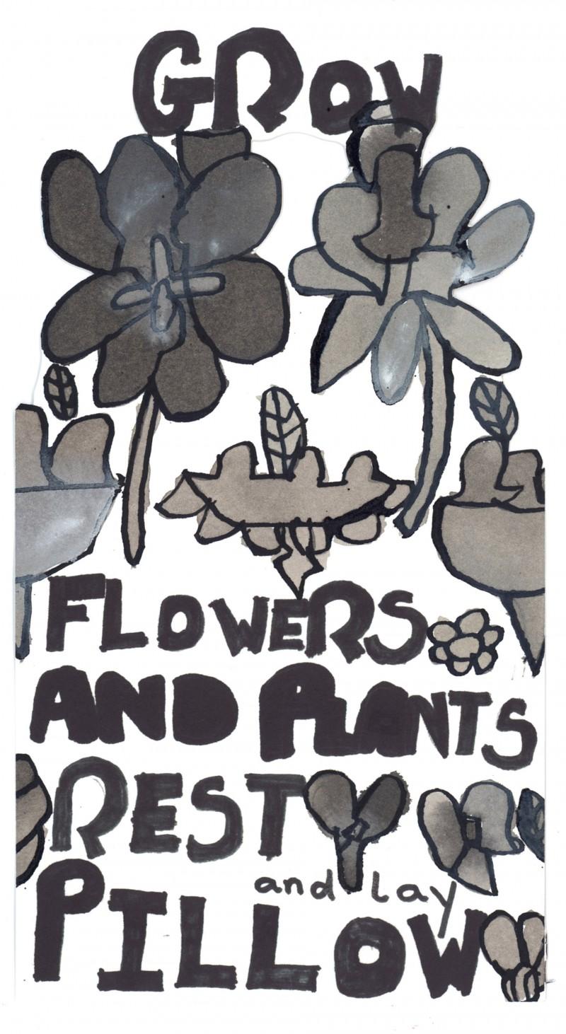 Grow Flowers – Bookmark