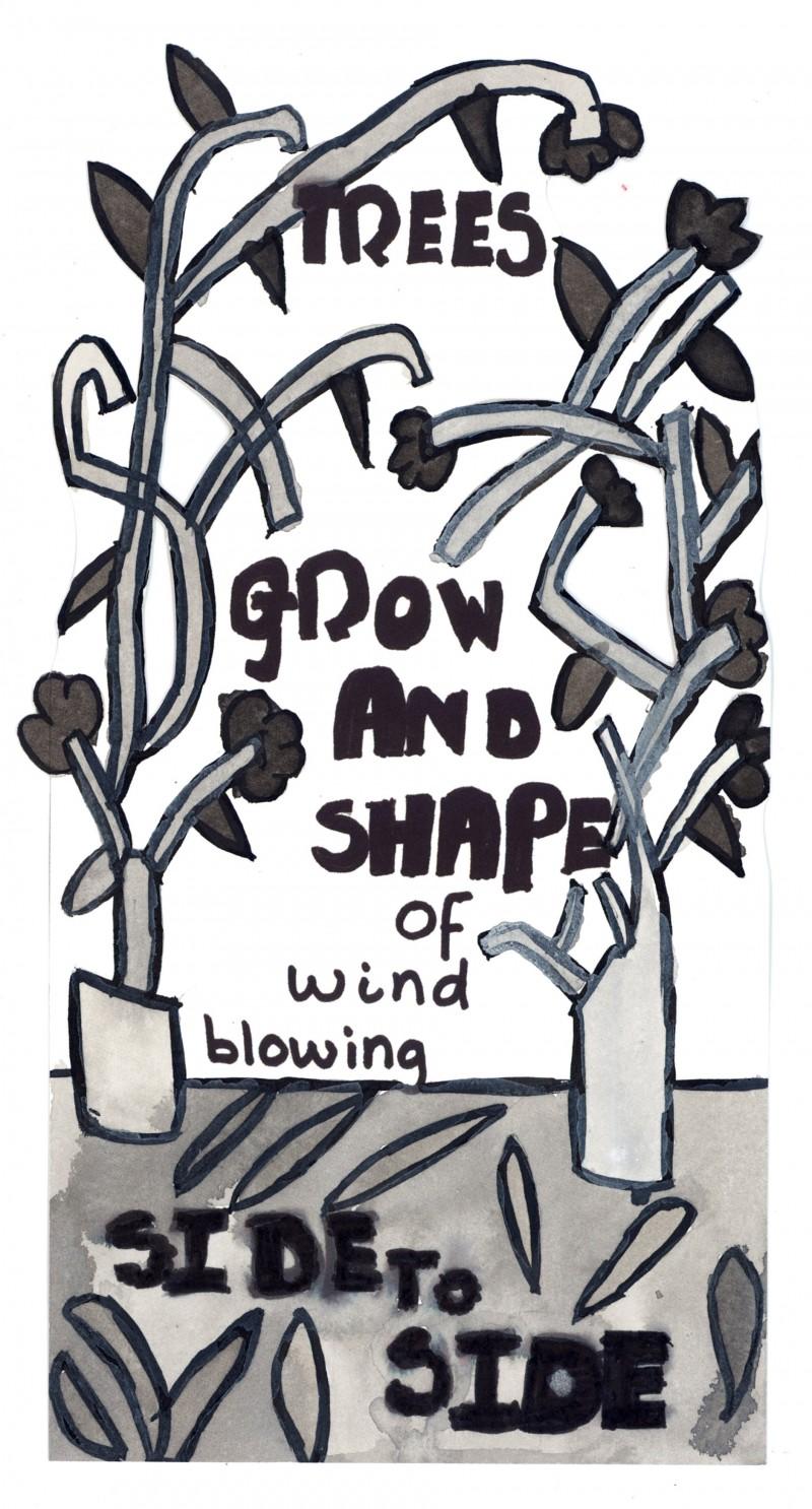 Trees Grow – Bookmark