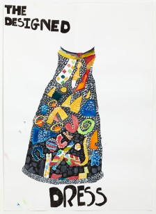 Ntiense E Amooquaye, Glitter Dress, 2015