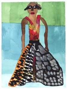 Ntiense E Amooquaye, Mask, 2015