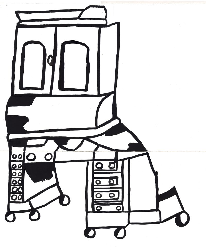 Wheeled Dressers
