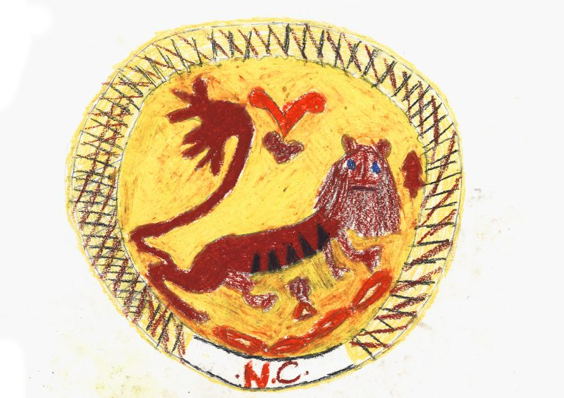 Lion Plate