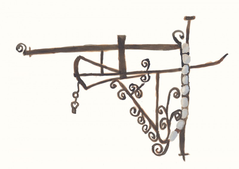 Chimney Crane – Ironwork, 18th Century
