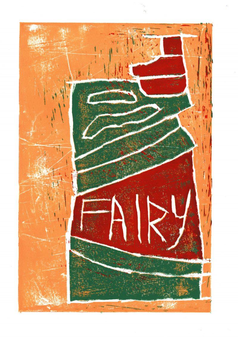 Stanley Galton, Fairy Bottle Print 4, 2018