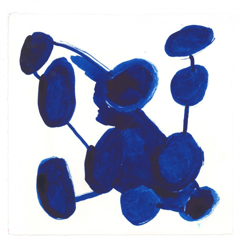 10 Blue Circles