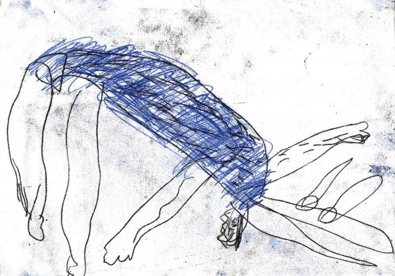 Flexible in Blue