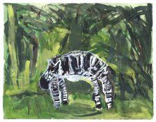 Uduehi Imienwanrin, Zebra, 2016