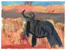 Uduehi Imienwanrin, Wildebeest , 2016