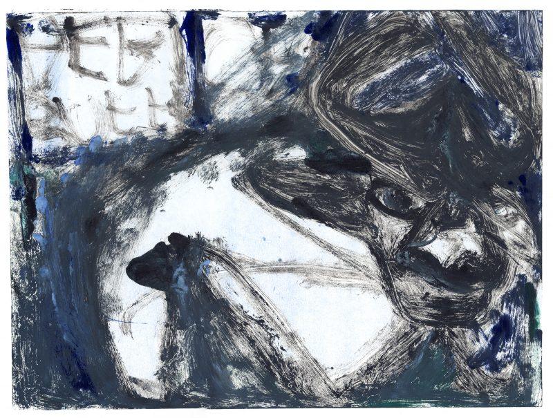 Black and Blue Buffalo