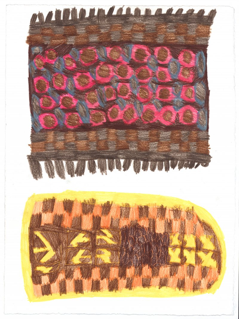 Two African Fabrics
