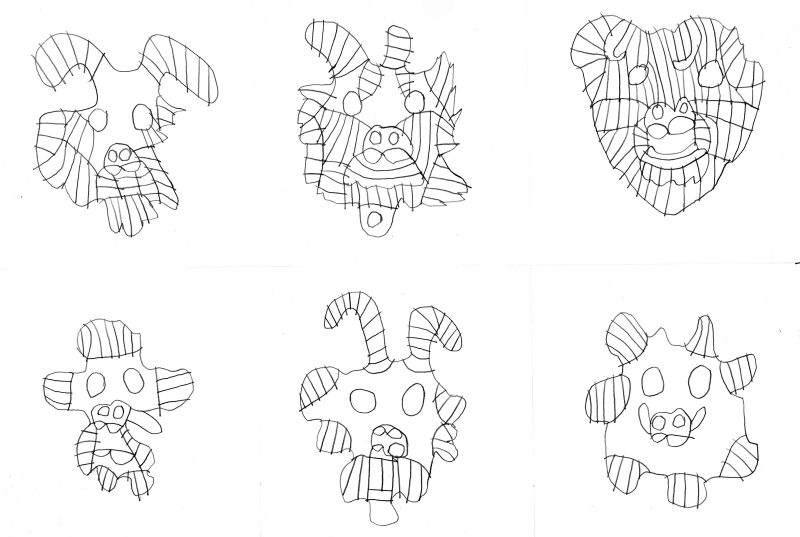 Six Masks