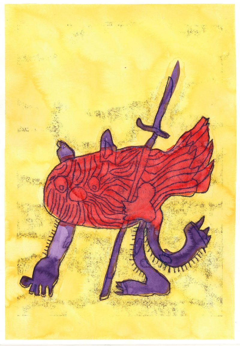 Catlike with Sword